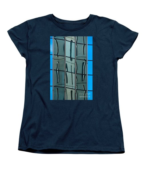 Women's T-Shirt (Standard Cut) featuring the photograph Reflecting Eagle 1 by Werner Padarin