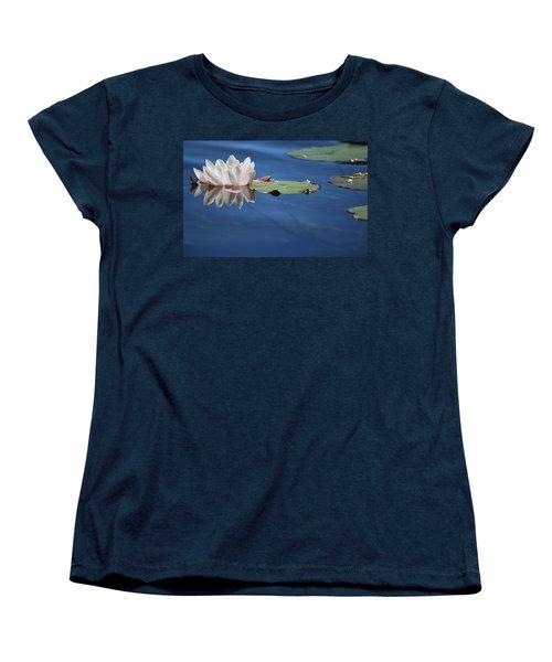 Reflecting In Blue Water Women's T-Shirt (Standard Cut)
