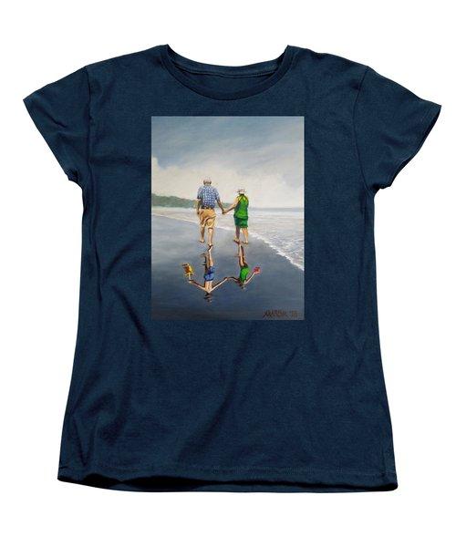 Reflecting Happiness Women's T-Shirt (Standard Cut)