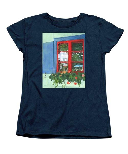 Reflecting Panes Women's T-Shirt (Standard Cut) by Lynne Reichhart