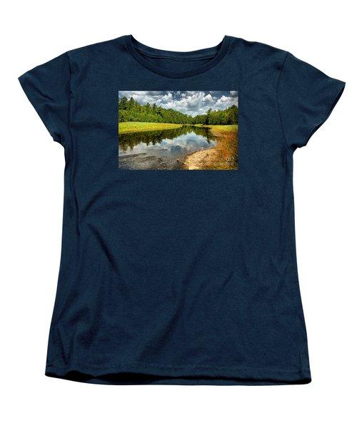 Reflection Of Nature Women's T-Shirt (Standard Cut) by Joe  Ng