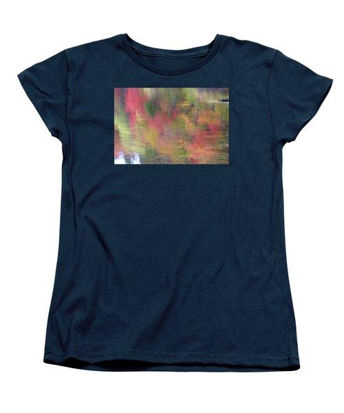 Reflections Women's T-Shirt (Standard Cut) by Catherine Alfidi