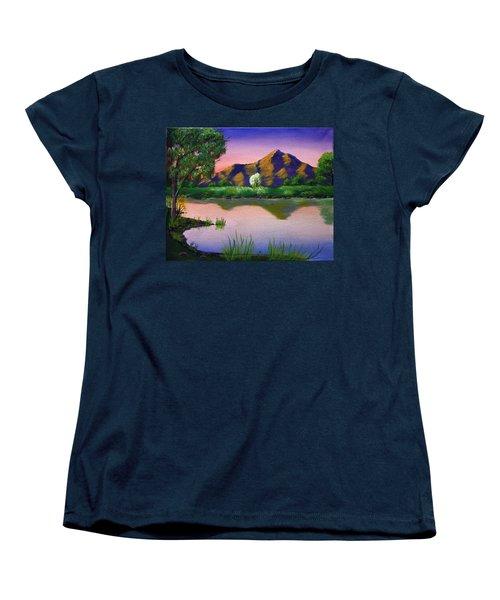 Reflections In The Breeze Women's T-Shirt (Standard Cut)