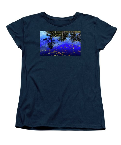 Reflections  Women's T-Shirt (Standard Cut) by Lyle Crump