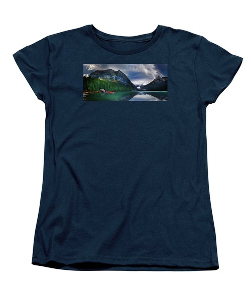 Women's T-Shirt (Standard Cut) featuring the photograph Reflections Of by John Poon