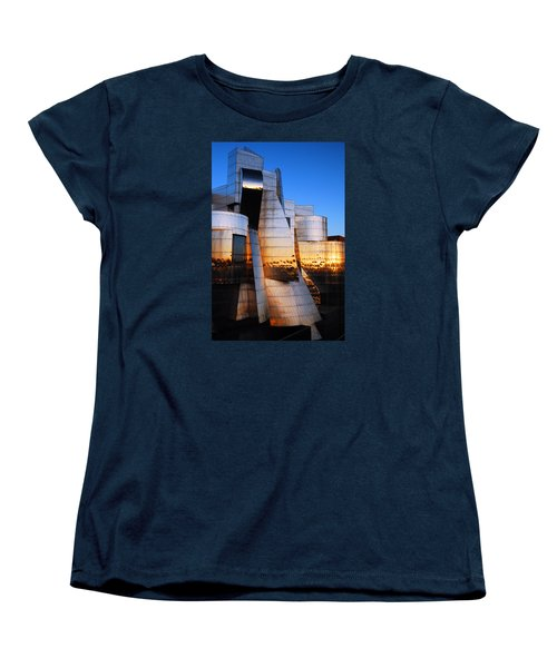 Reflections Of Sunset Women's T-Shirt (Standard Cut) by James Kirkikis