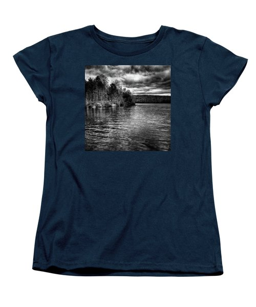 Reflections On Limekiln Lake Women's T-Shirt (Standard Cut) by David Patterson