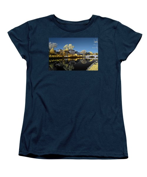 Reflections On Wesley Lake Women's T-Shirt (Standard Cut) by Paul Seymour
