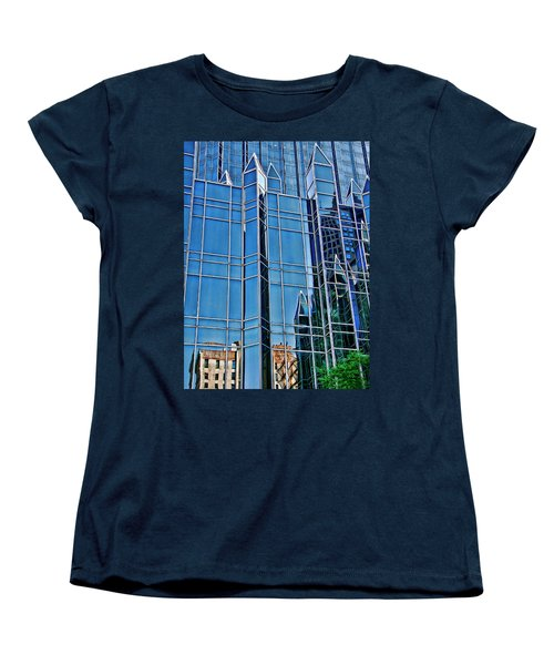 Women's T-Shirt (Standard Cut) featuring the photograph Reflections by Rhonda McDougall