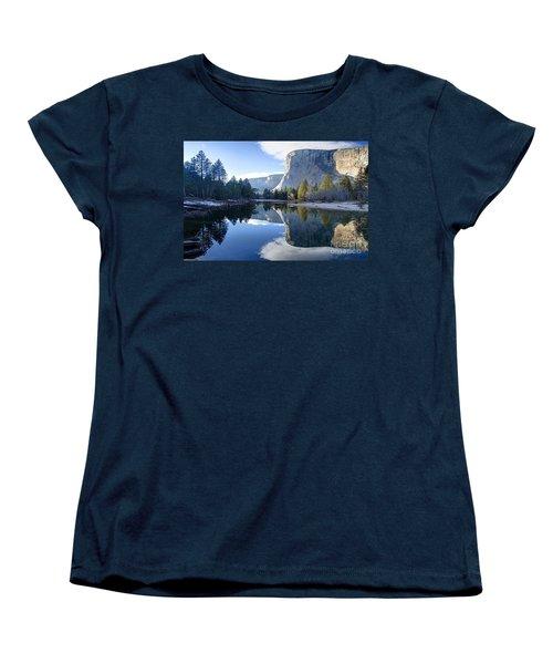 Reflections Women's T-Shirt (Standard Cut) by Rod Jellison