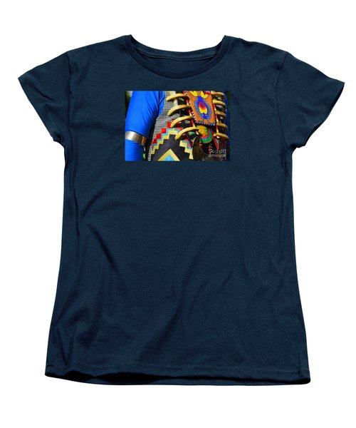 Women's T-Shirt (Standard Cut) featuring the photograph Regalia 1 by Lew Davis