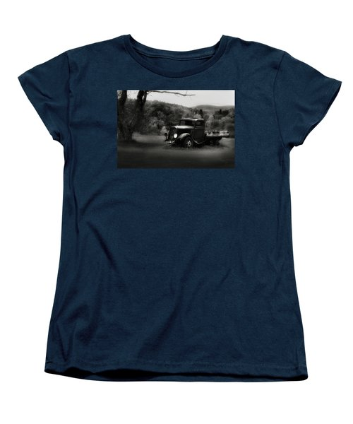 Women's T-Shirt (Standard Cut) featuring the photograph Relic Truck by Bill Wakeley