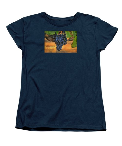 Women's T-Shirt (Standard Cut) featuring the photograph Remain In Me by Lynn Hopwood
