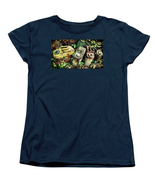 Remains Of The Day - Camp Mountain Lake Women's T-Shirt (Standard Cut)