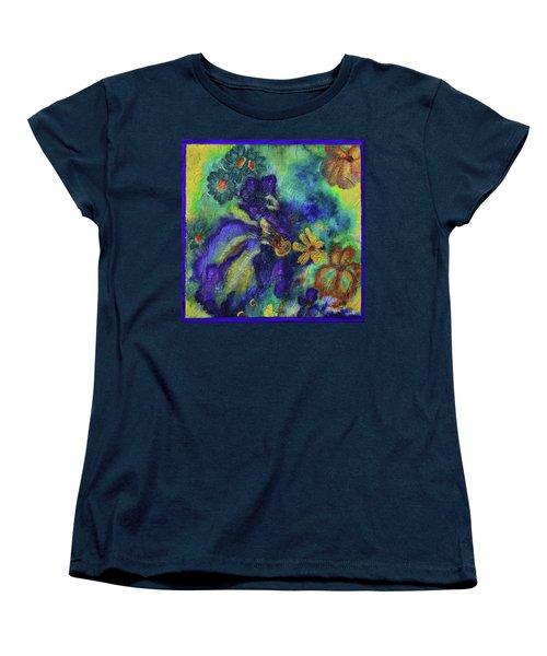 Remember The Flowers Women's T-Shirt (Standard Cut) by Donna Blackhall