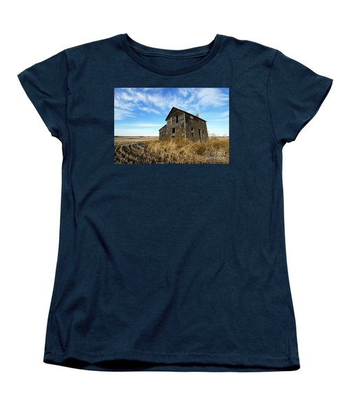 Women's T-Shirt (Standard Cut) featuring the photograph Remember The Past Work For The Future 2 by Bob Christopher