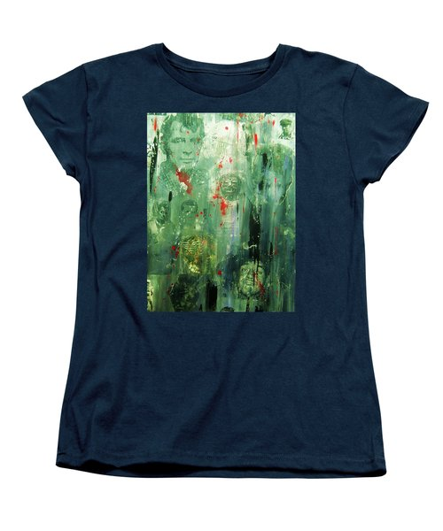 Remembering Kerouac Women's T-Shirt (Standard Cut) by Roberto Prusso
