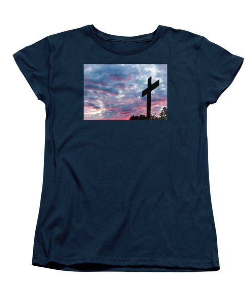 Women's T-Shirt (Standard Cut) featuring the photograph Reminded by Robin Coaker