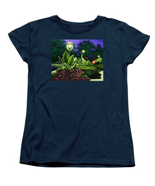 Rendezvous In The Park Women's T-Shirt (Standard Cut) by Michael Frank