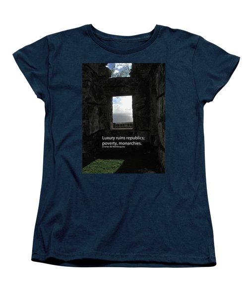 Republics And Monarchies Women's T-Shirt (Standard Cut) by Ian  MacDonald