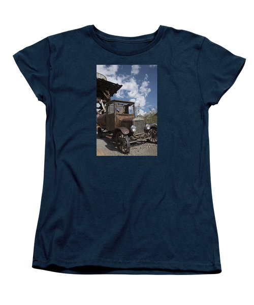Women's T-Shirt (Standard Cut) featuring the photograph Rest Stop by Annette Berglund