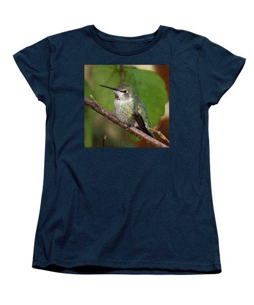 Resting Women's T-Shirt (Standard Cut) by Sheldon Bilsker