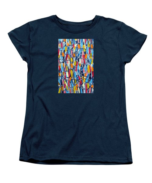 Restless Aura Women's T-Shirt (Standard Cut) by Paul Moss