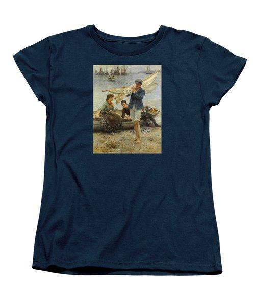 Return From Fishing Women's T-Shirt (Standard Cut)