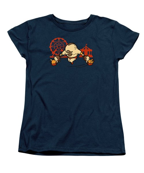 Return Women's T-Shirt (Standard Cut) by Opoble Opoble