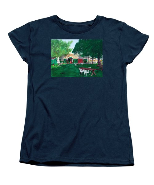 Retzlaff Winery Women's T-Shirt (Standard Cut) by Mike Robles