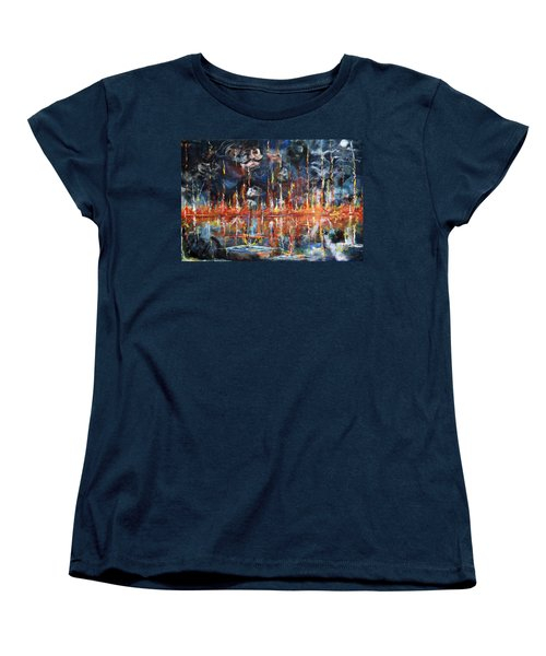 Revelations 20_ 14-15 Women's T-Shirt (Standard Cut) by Gary Smith