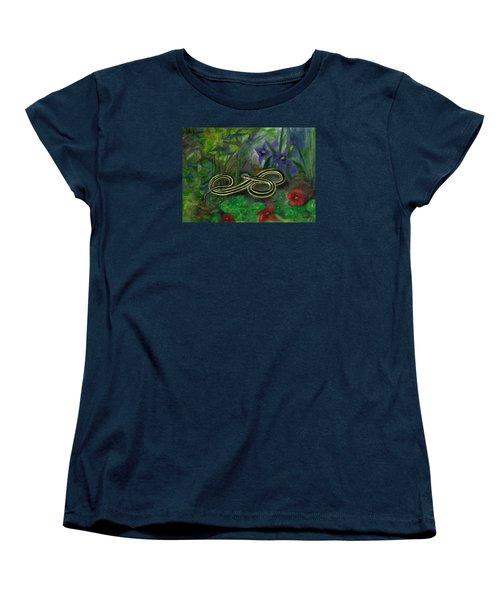 Ribbon Snake Women's T-Shirt (Standard Cut) by FT McKinstry