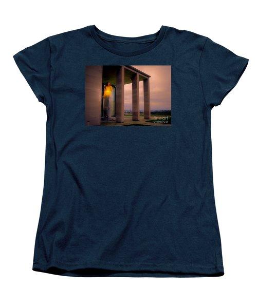 Women's T-Shirt (Standard Cut) featuring the photograph Richmond Virginia War Memorial by Melissa Messick