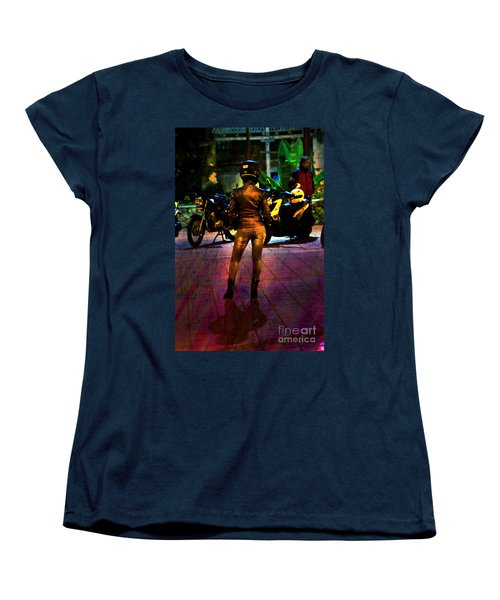 Women's T-Shirt (Standard Cut) featuring the photograph Riding Companion II by Al Bourassa