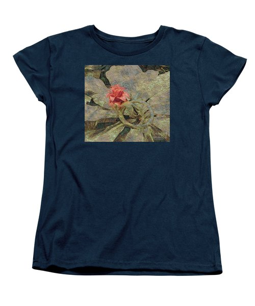 Women's T-Shirt (Standard Cut) featuring the photograph Ring Around The Posy by Kathie Chicoine