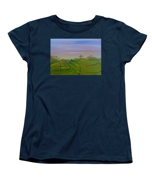 Ripples Of Life 1.2 Women's T-Shirt (Standard Cut) by Tim Mullaney