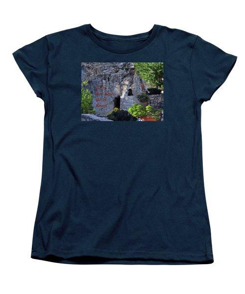 Risen Women's T-Shirt (Standard Cut) by Lydia Holly