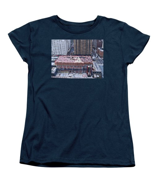 Rising Women's T-Shirt (Standard Cut) by Steve Sahm