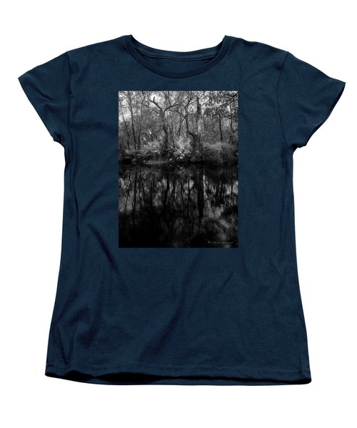 River Bank Palmetto Women's T-Shirt (Standard Cut) by Marvin Spates