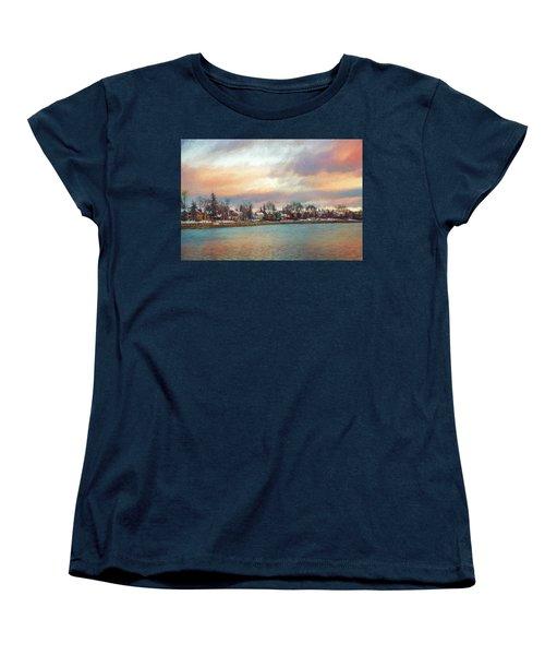 River Dream Women's T-Shirt (Standard Cut) by Celso Bressan