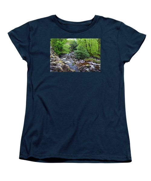 River Mahon Waterford Ireland..jpg Women's T-Shirt (Standard Cut) by Terence Davis