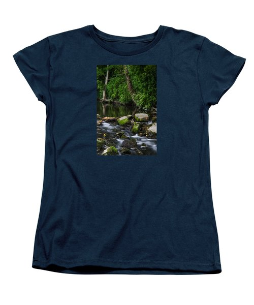 River Tolka Women's T-Shirt (Standard Cut) by Martina Fagan