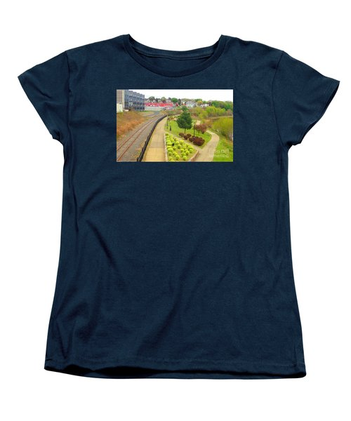 Rivers Edge Living   Women's T-Shirt (Standard Cut) by Christina Verdgeline