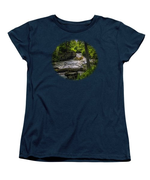 Riverside Women's T-Shirt (Standard Cut) by Mark Myhaver