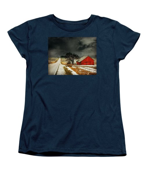 Road To Nowhere Women's T-Shirt (Standard Cut) by Julie Hamilton