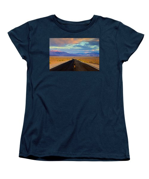 Road To The Dreams Women's T-Shirt (Standard Cut) by Evgeny Vasenev