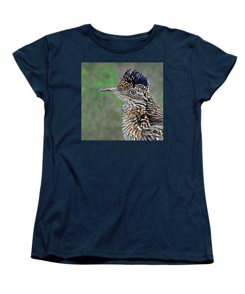 Roadrunner Portrait Women's T-Shirt (Standard Cut) by Dave Mills