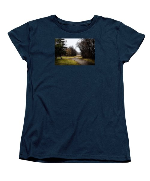 Roads To Nowhere Women's T-Shirt (Standard Cut) by Celso Bressan