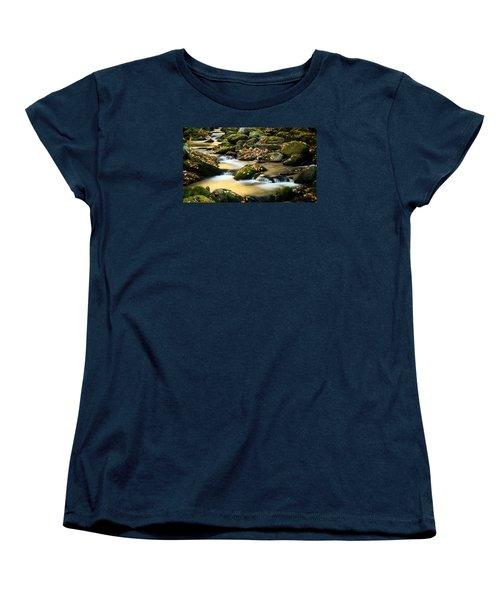 Women's T-Shirt (Standard Cut) featuring the photograph Roaring Fork River by Monte Stevens