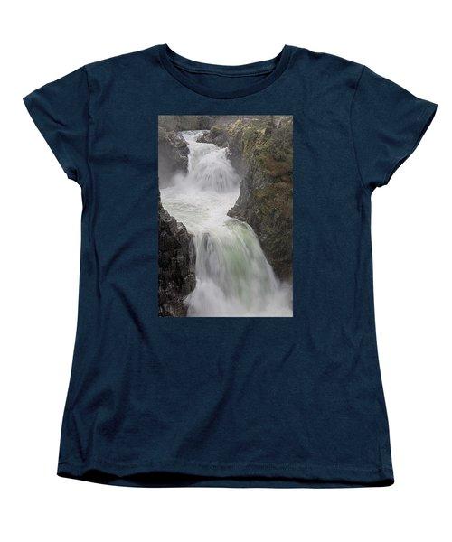 Roaring River Women's T-Shirt (Standard Cut) by Randy Hall